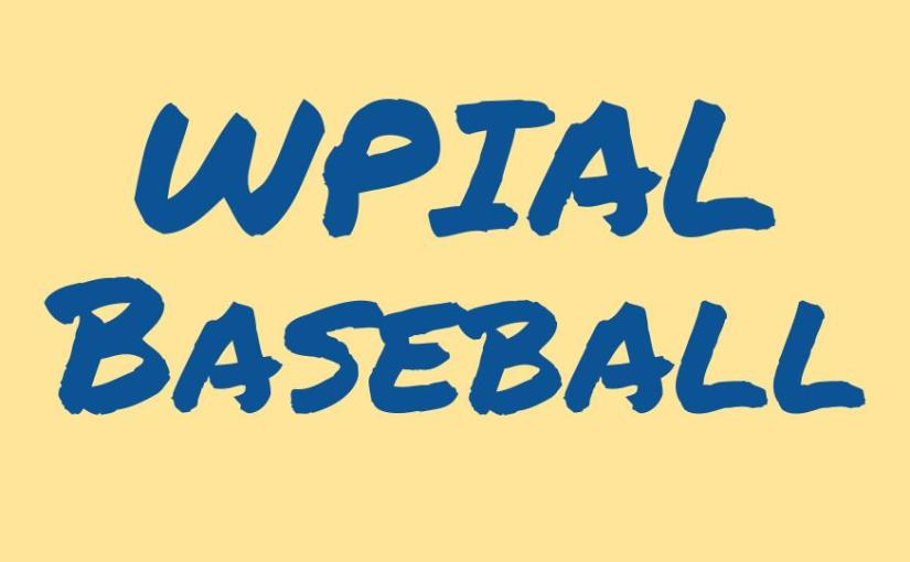 WPIAL Baseball Power Rankings – 4/7