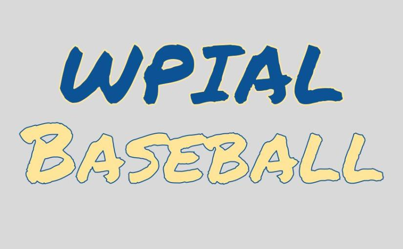 WPIAL Baseball Power Rankings – 5/5